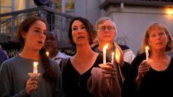 A candlelight vigil is held at Rancho Bernardo Community Presbyterian Church for victims of a shooting incident at the Congregation Chabad synagogue in Poway, north of San Diego, California, U.S. April 27, 2019. REUTERS/John Gastaldo