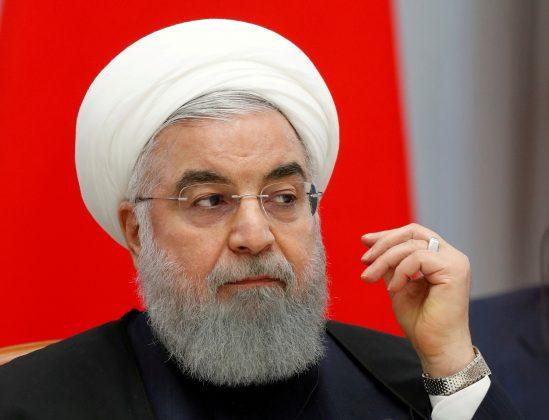 FILE PHOTO: Iranian President Hassan Rouhani attends talks in the Black Sea resort of Sochi, Russia, Feb. 14 2019. Sergei Chirikov/File Photo