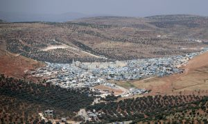 FILE PHOTO: A general view of Atmeh camp for the displaced, in Atmeh town, Idlib province, Syria May 19, 2019. REUTERS/Khalil Ashawi