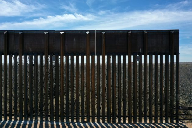 FILE PHOTO: New bollard-style U.S.-Mexico border fencing is seen in Santa Teresa, New Mexico, U.S., March 5, 2019. Picture taken March 5, 2019. REUTERS/Lucy Nicholson - RC1FD8531B60/File Photo