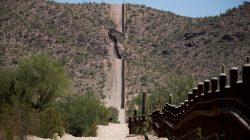 FILE PHOTO: The U.S.-Mexico border is seen near Lukeville, Pima County, Arizona, U.S., September 11, 2018. REUTERS/Lucy Nicholson/File Photo