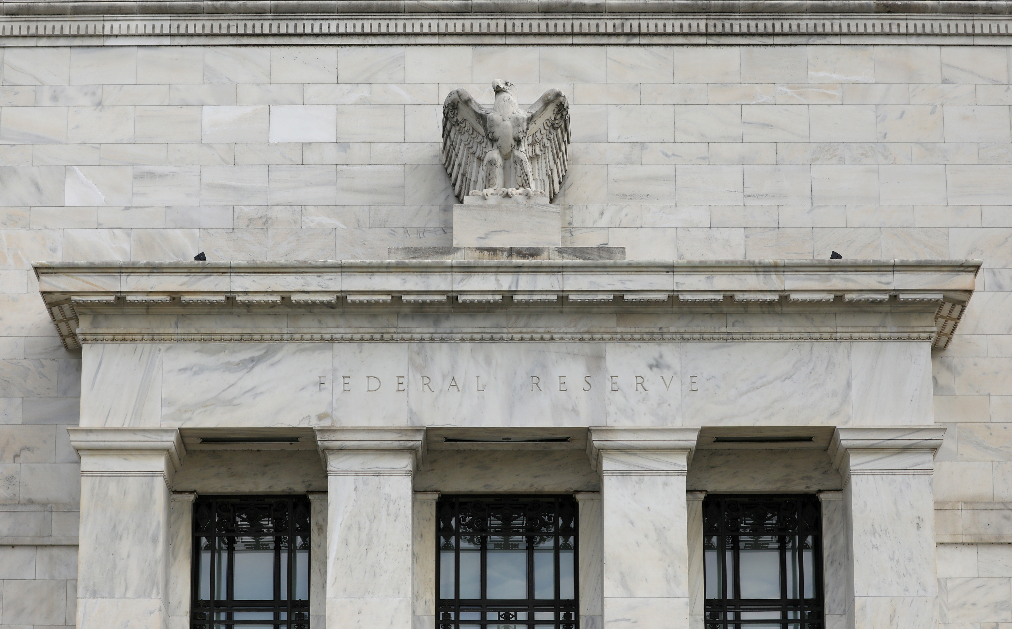 The Federal Reserve building is pictured in Washington, DC, U.S., August 22, 2018. REUTERS/Chris Wattie/