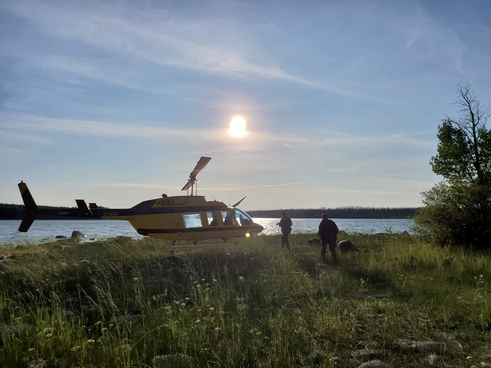 Canadian Mounted Police (RCMP) continue their search for Kam McLeod and Bryer Schmegelsky, two teenage fugitives wanted in the murders of three people, near Gillam, Manitoba, Canada July 28, 2019. Manitoba RCMP/Handout via REUTERS