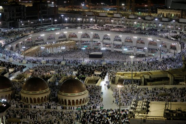 Muslims pray at the Grand Mosque during the annual Haj pilgrimage in the holy city of Mecca, Saudi Arabia August 6, 2019. REUTERS/Umit Bektas