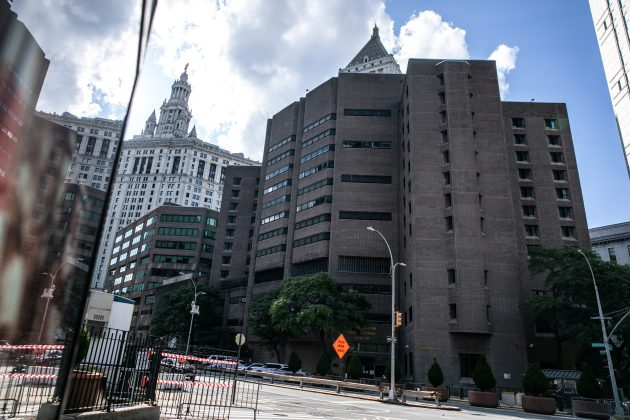 An exterior view of the Metropolitan Correctional Center jail where financier Jeffrey Epstein, who was found dead in the Manhattan borough of New York City, New York, U.S., August 10, 2019. REUTERS/Jeenah Moon