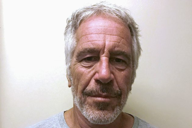 FILE PHOTO: U.S. financier Jeffrey Epstein appears in a photograph taken for the New York State Division of Criminal Justice Services' sex offender registry March 28, 2017 and obtained by Reuters July 10, 2019. New York State Division of Criminal Justice Services/Handout/File Photo via REUTERS.