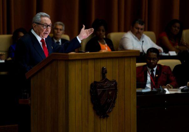 Cuban Communist Party chief Raul Castro