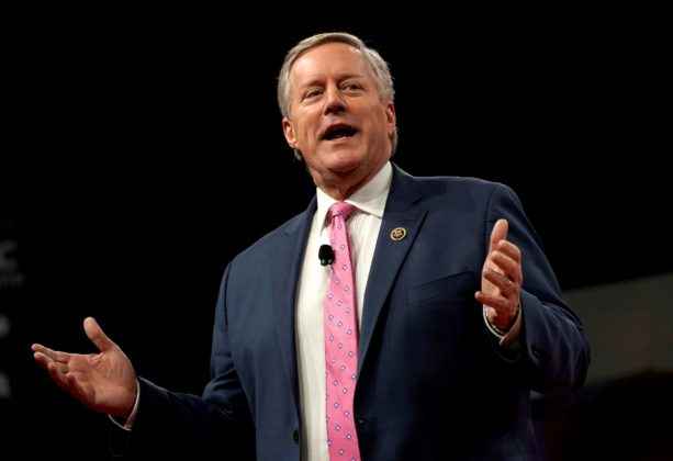 Republican Mark Meadows speaks at the Conservative Political Action Conference (