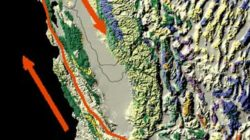 The San Andreas Fault line. By Kate Barton, David Howell, and Joe Vigil -