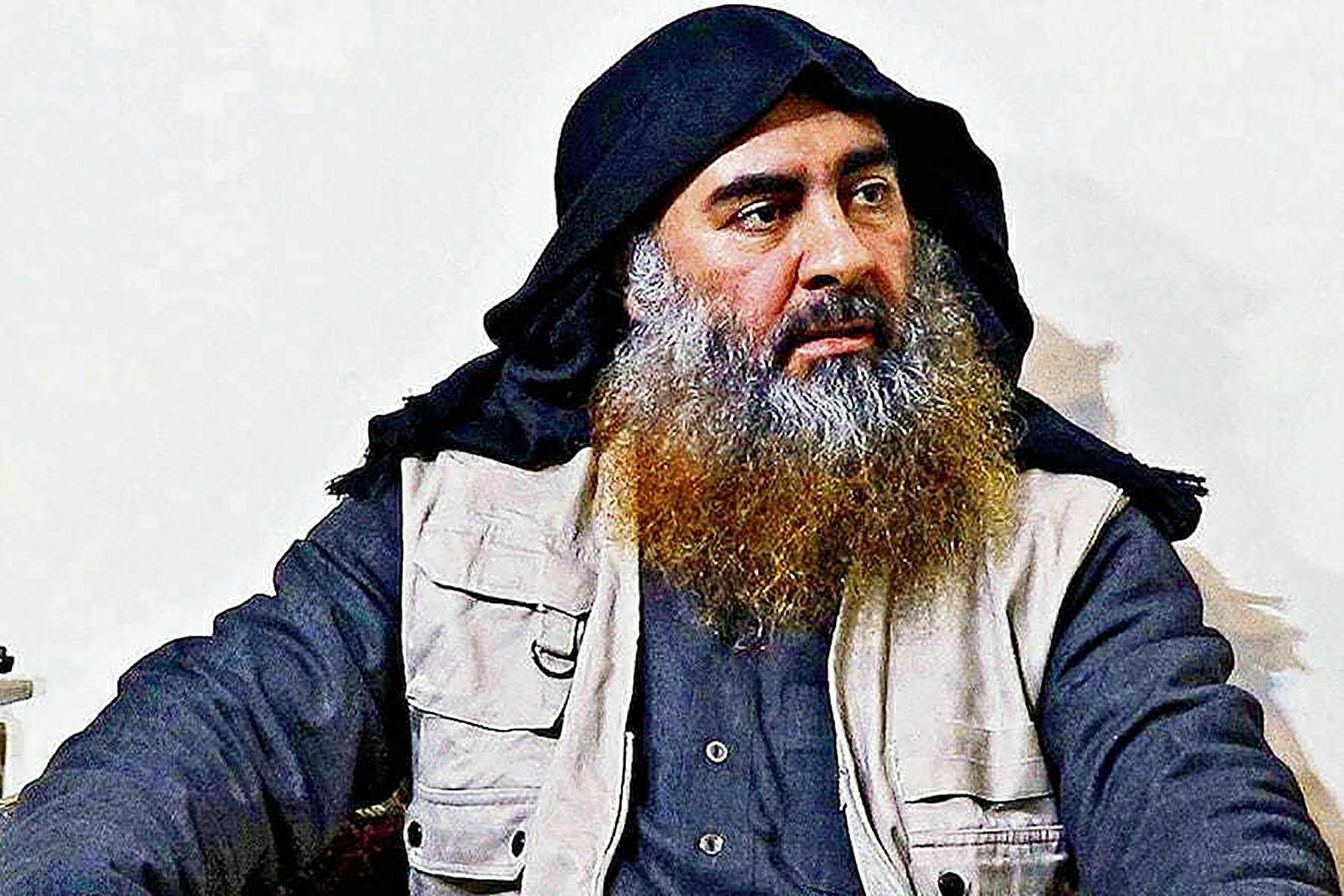Late Islamic State leader Abu Bakr al-Baghdadi is seen in an undated picture released by the U.S. Department of Defense in Washington, U.S. October 30, 2019. U.S. Department of Defense/Handout via REUTERS