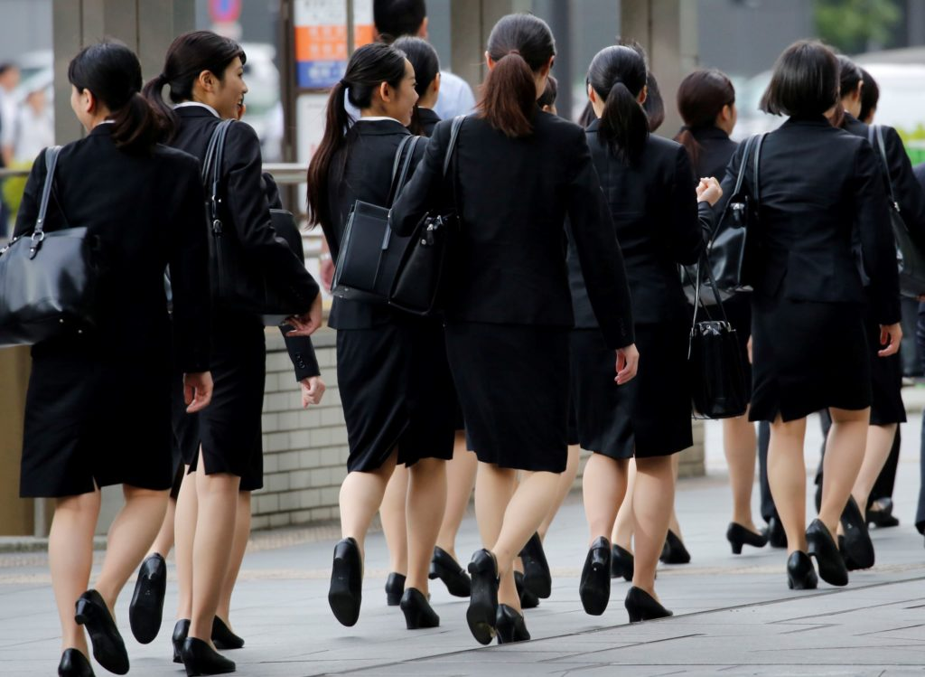 Japanese Women Fight For Right To Wear Glasses To Work -6366