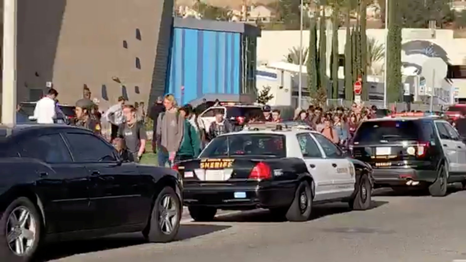 """California police find no motive for school shooting By Steve Gorman SANTA CLARITA, Calif. (Reuters) - A 16-year-old student was carrying out a deliberate plan when he shot five teenagers at his California high school then turned the gun on himself, the local sheriff said on Friday, but authorities have no clues about what sparked the bloodshed. """"We did not find any manifesto, any diary that spelled it out,"""" Los Angeles County Sheriff Alex Villanueva said at a briefing. The gunman, whose identity has not been made public, survived the self-inflicted gunshot wound but was in grave condition in a hospital, Villanueva said. Two of the other five students who were shot in the Thursday morning attack died of their wounds. Detectives worked through the night to follow up on tips related to the shooting at Saugus High School in Santa Clarita, about 40 miles (65 km) north of Los Angeles. The shooting, which was caught on video, unfolded in 16 seconds, police said. Arriving at school on his 16th birthday, the suspect pulled a .45 semi-automatic pistol from his backpack in an outdoor courtyard, stood in one place and shot his victims in rapid succession before turning the gun and firing the last bullet into his head. Villanueva said authorities did not know the origin of the gun used, nor how the shooter got his hands on it. All Hart District schools in Santa Clarita were closed on Friday, the Santa Clarita Valley Sheriff's office said on Twitter, out of respect for the victims and their families. Two girls aged 14 and 15 were being treated at Providence Holy Cross Medical Center in Mission Hills, California and were listed in good and fair condition, a hospital spokeswoman said early on Friday. At the Henry Mayo Hospital in Santa Clarita, authorities said a 14-year-old boy was treated and released. Two other students who had been taken there died. A hospital spokesman could not immediately be reached on Friday. Villanueva identified one of the students killed as Gracie Anne """