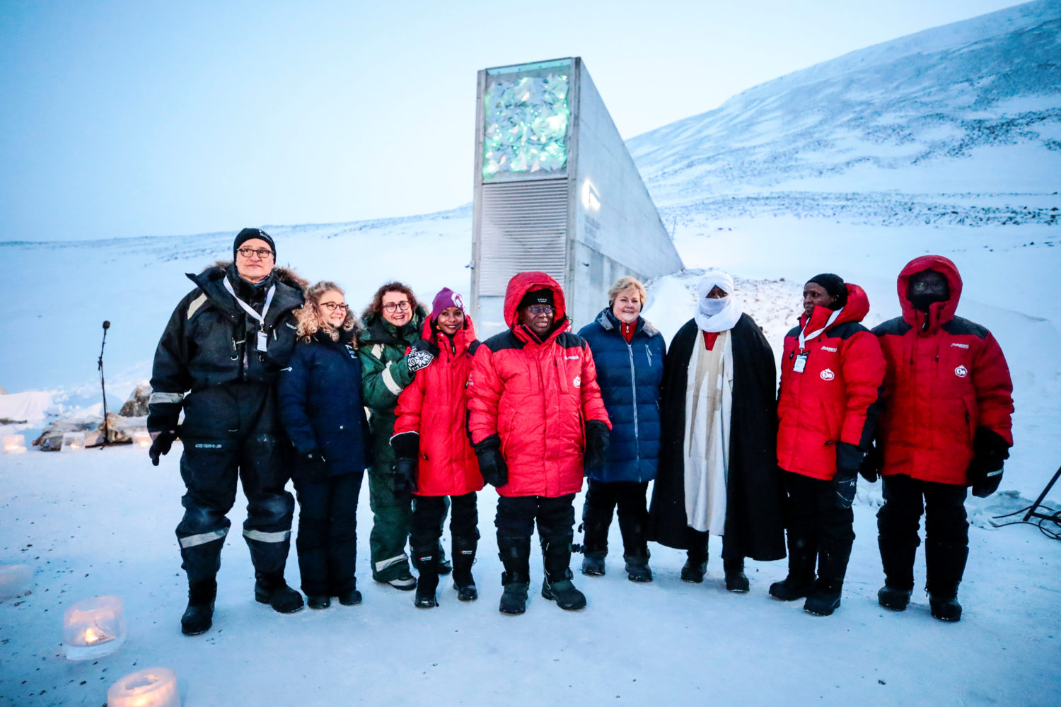 Arctic Doomsday Food Vault Welcomes Millionth Seed Variety The