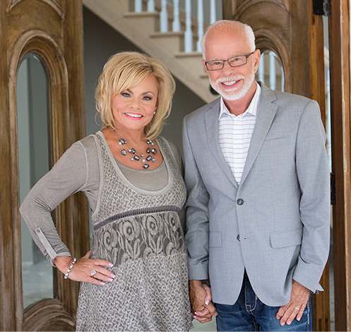 Jim and Lori Bakker