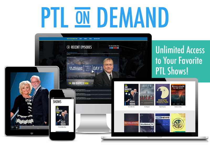 PTL Network On Demand gives you unlimited access to watch your favorite shows!