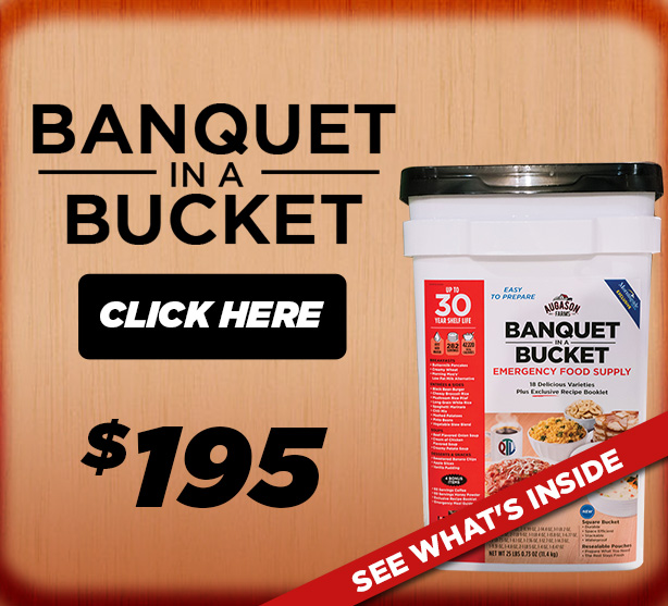 Order the Banquet in a Bucket TODAY!