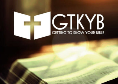 Getting To Know Your Bible with Billy Lambert